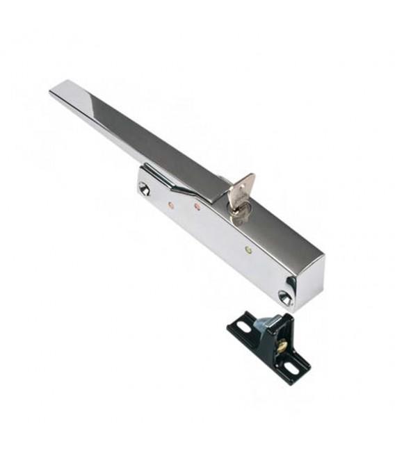 Loqueteau automatique avec clé pour portillons en surépaisseur